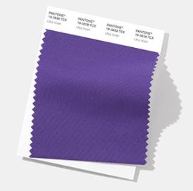 PANTONE Color del año 2018 cotton swatch